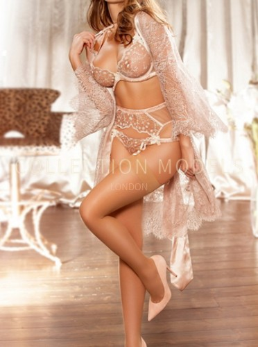 Upscale London escorts model Diana, tall busty GFE date